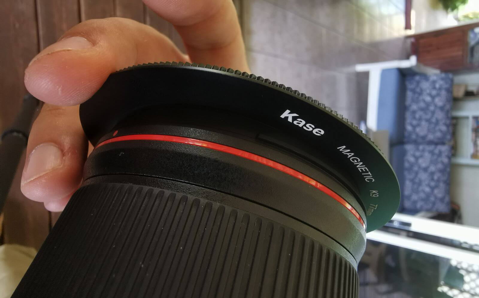 how I attach the adapter ring on my 16-35mm wide angle lens