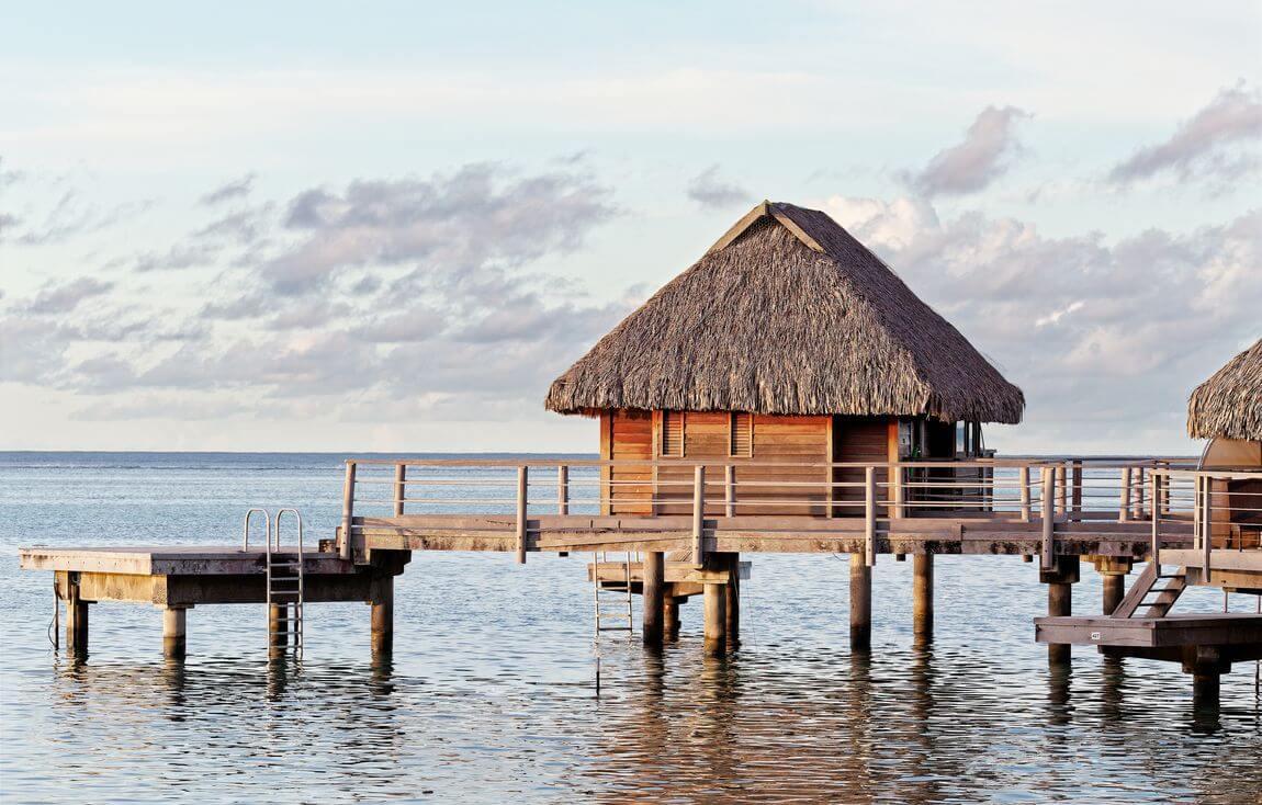 manava moorea overwater bungalow