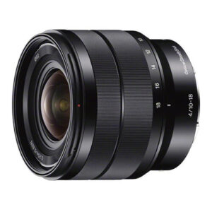 Sony 10–18mm f 4 OSS