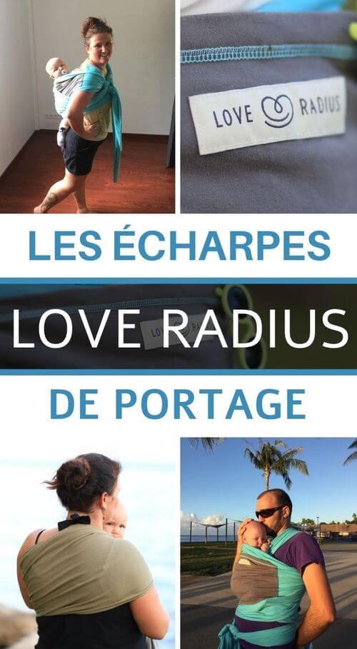 Avis sur les écharpes Love Radius
