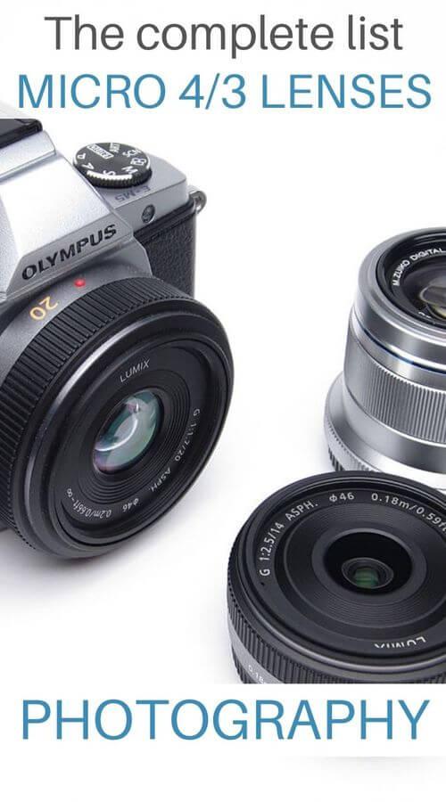 MFT Photo Lenses Guide