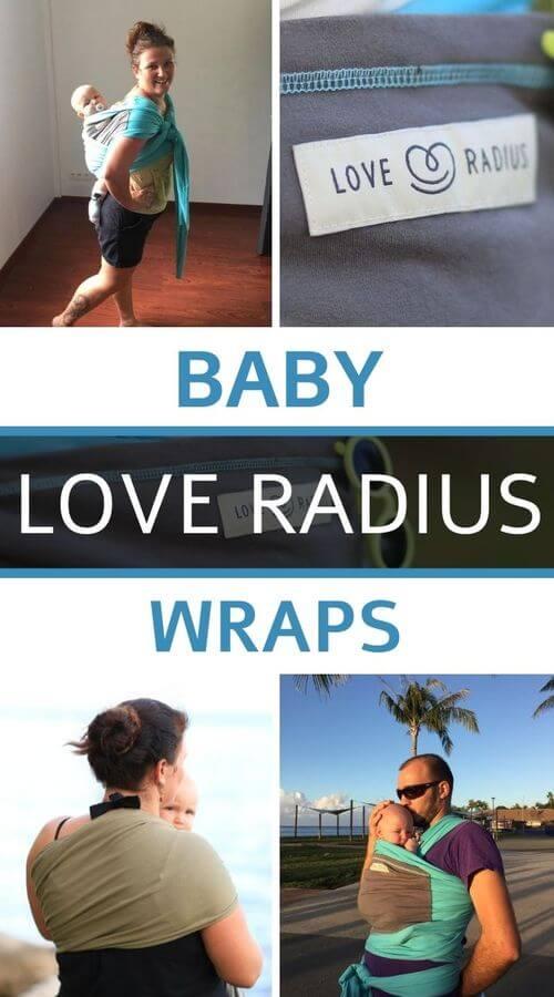 We've tested the Love Radius baby wraps