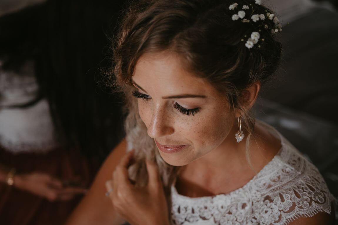 Bride's portrait photography