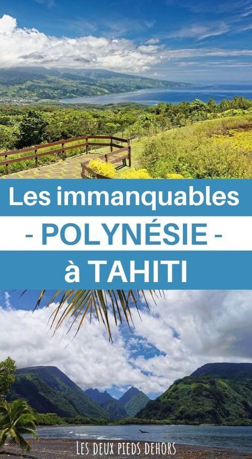 que faire et voir à tahiti