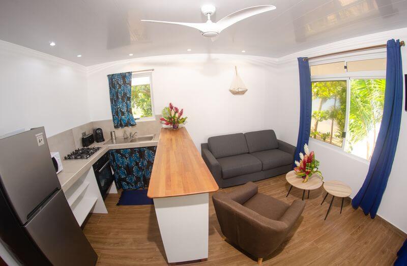 Beach Coconut Lodge salon