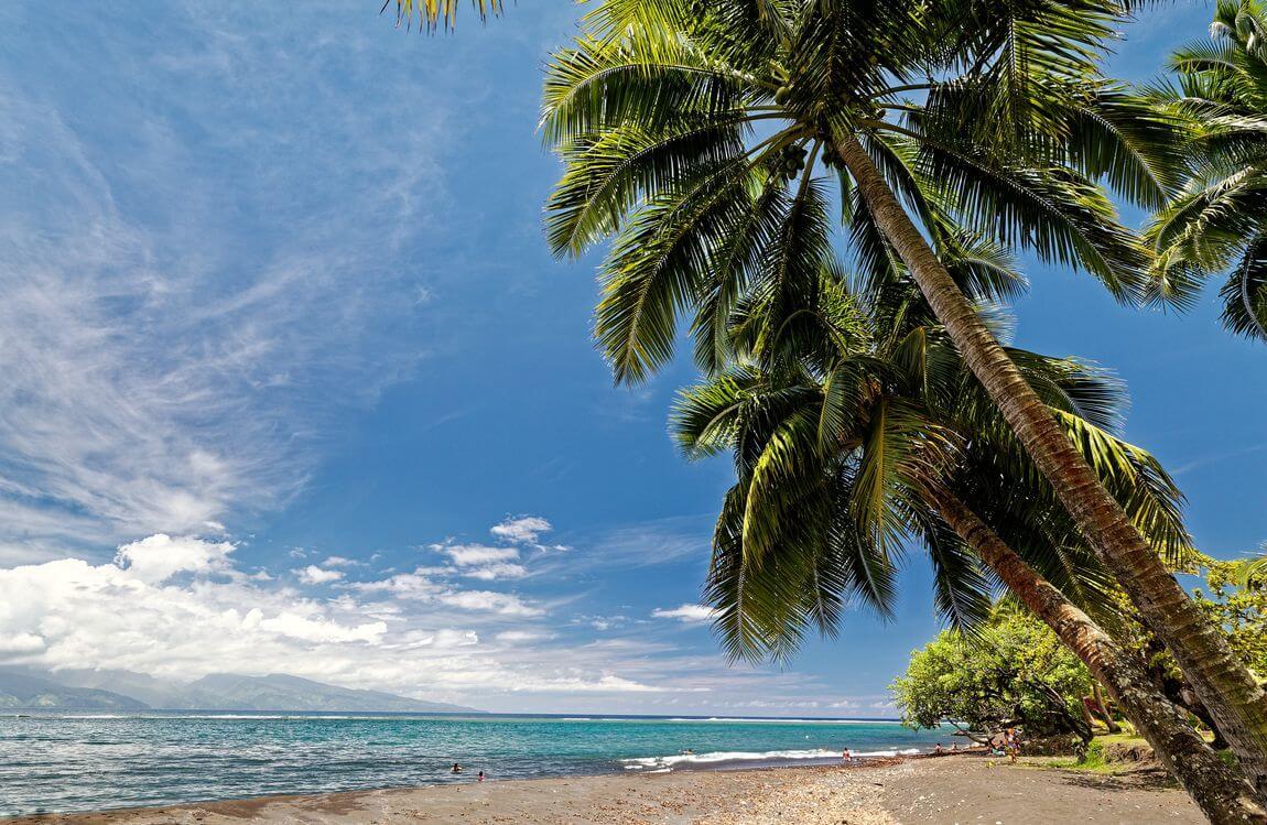 Plage de Tautira Tahiti