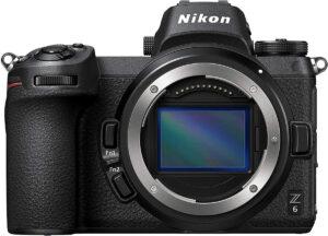 nikon FF mirrorless camera, the Z6