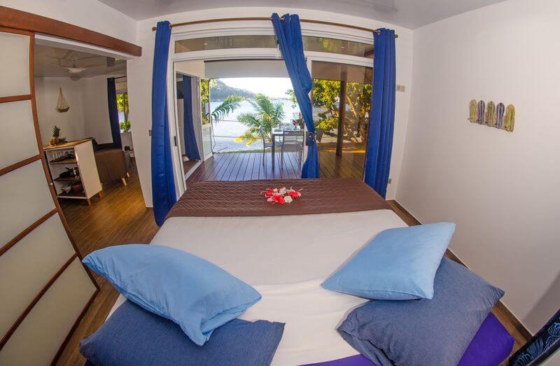 Beach Coconut lodge main room