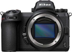 nikon z7 II mirrorless camera