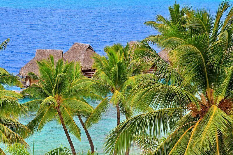 Chambre lagon bleu du Maitai