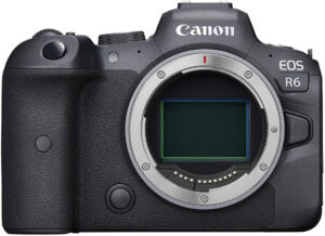 canon eos R6 mirrorless full frame camera