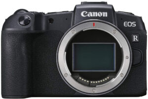 canon RP mirroreless camera