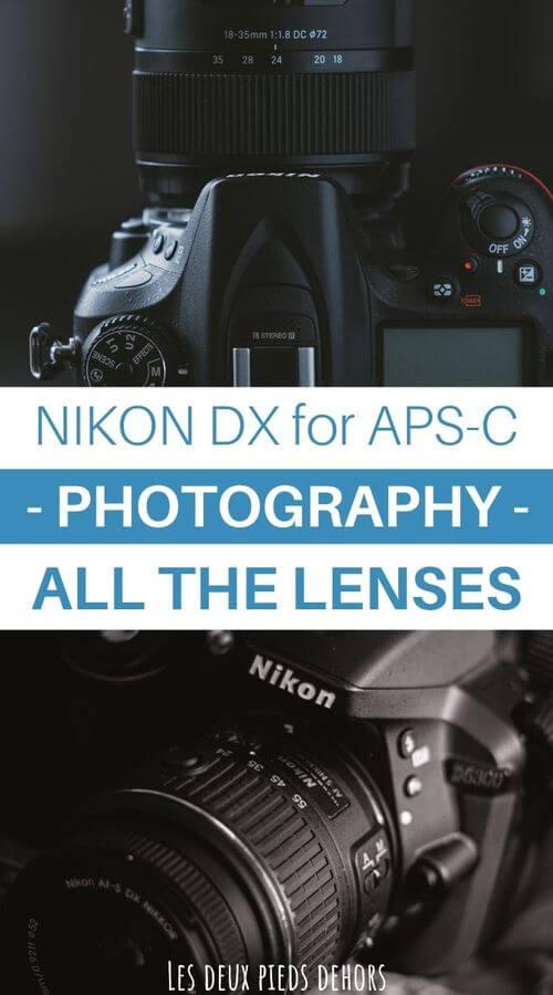 Lenses for APS-C DSLR - Nikon DX