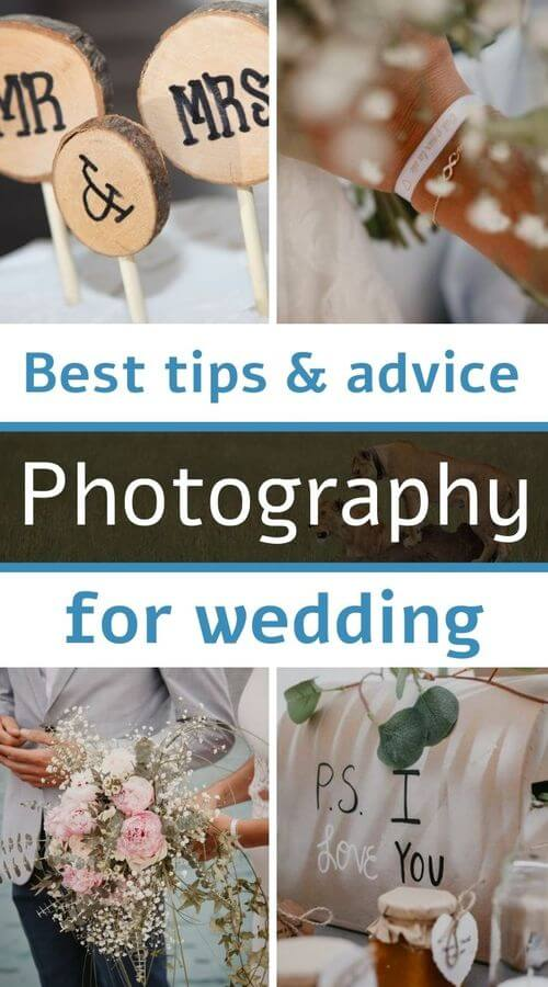 My tips for photo wedding