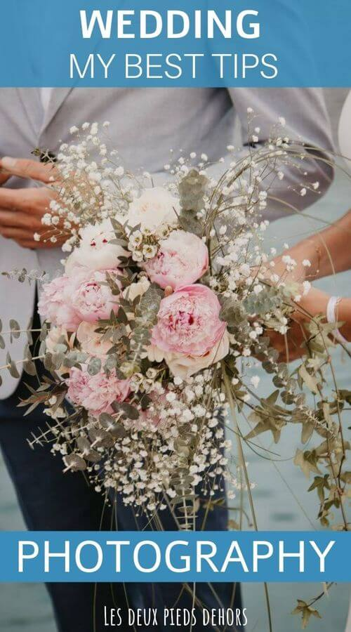 Shoot a wedding in photos