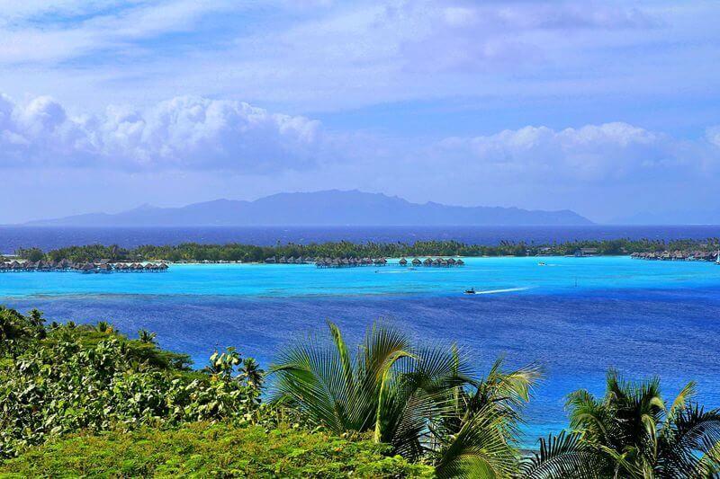 Pilotis de Bora Bora