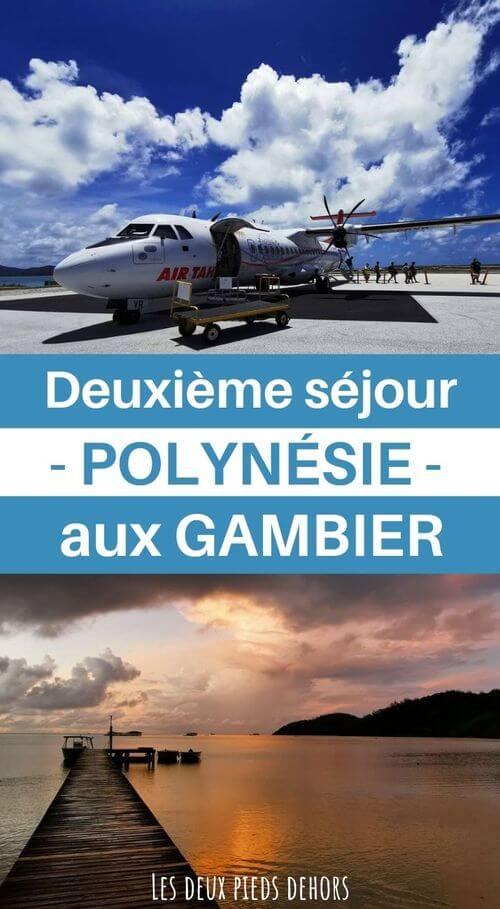 Vacance au Gambier