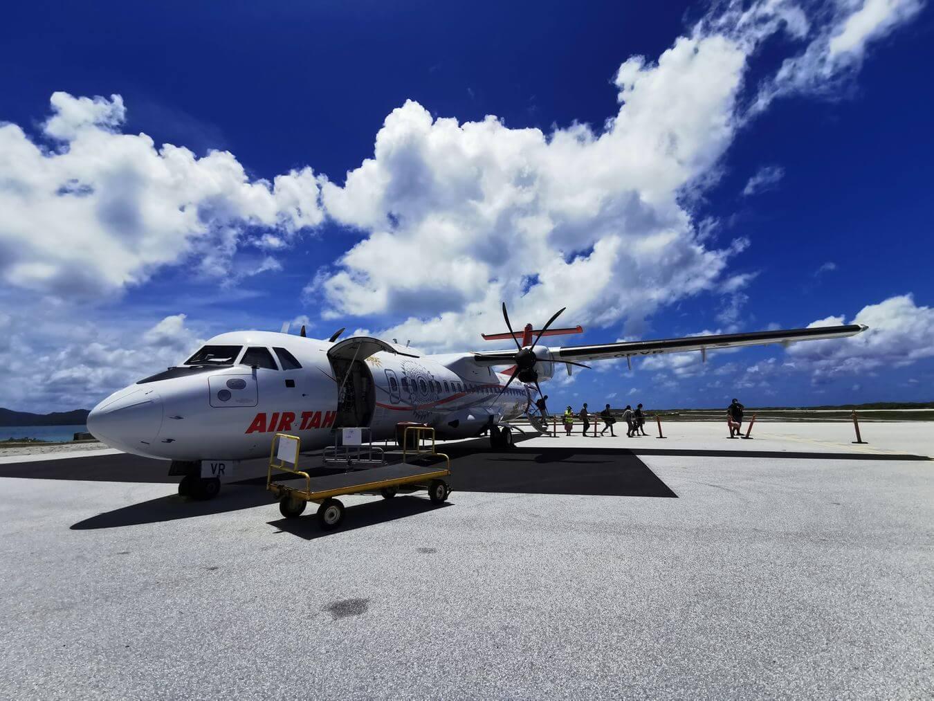 Séjour aux Gambier avec Air Tahiti