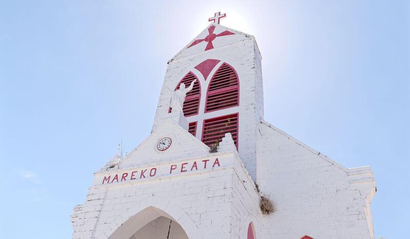 église à kauehi