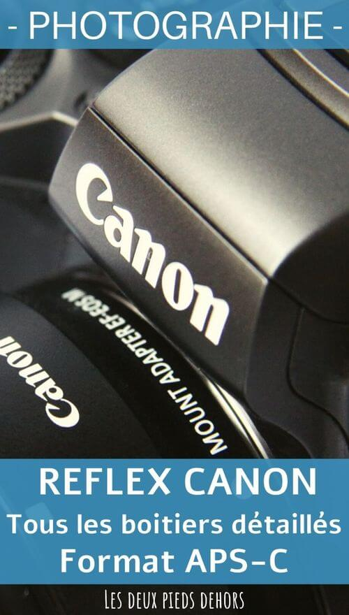 canon boitier reflex aps-c