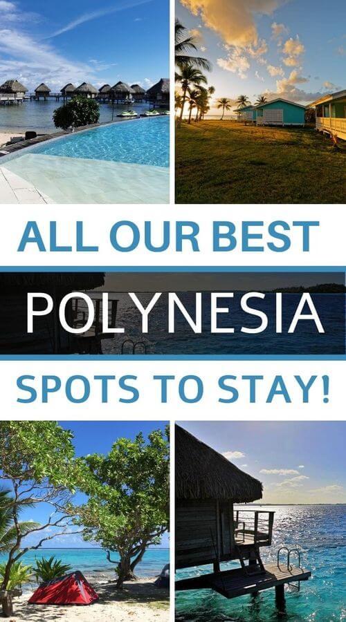 Where to sleep in Polynesia