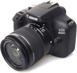 Rebel T100 / EOS 4000D dslr aps-c sensor camera