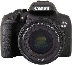 Canon Rebel T8i / EOS 850D camera aps-c dslr camera