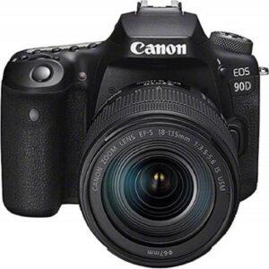 canon 90D dslr aps-c sensor