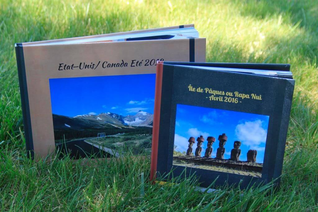 mes deux livres photos