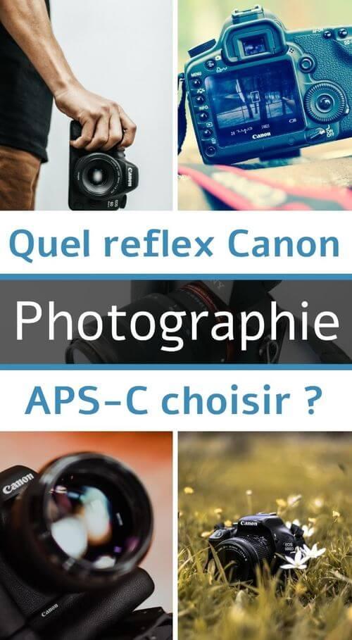 reflex canon aps-c