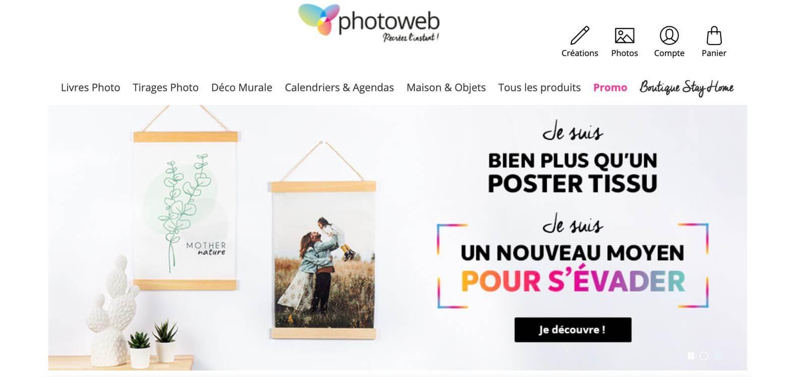 site web de photoweb
