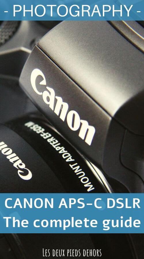 Listing des appareils photo canon reflex aps-c