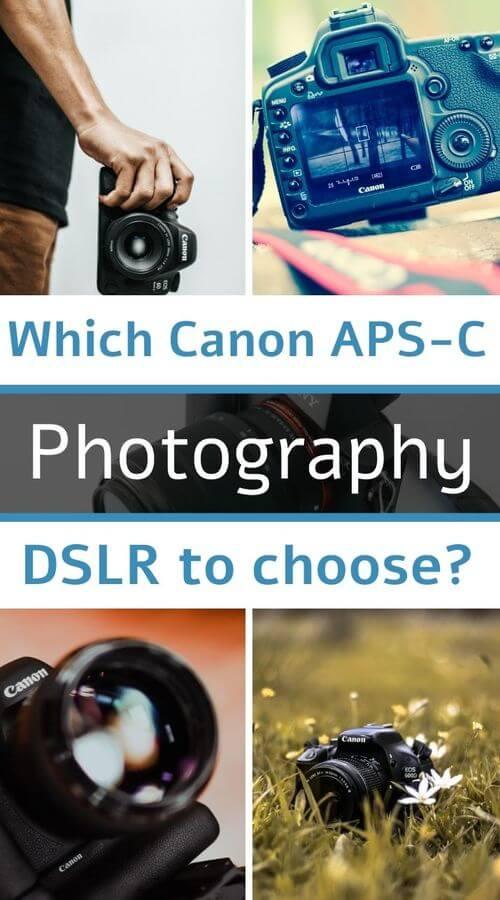 DSLR canon aps-c