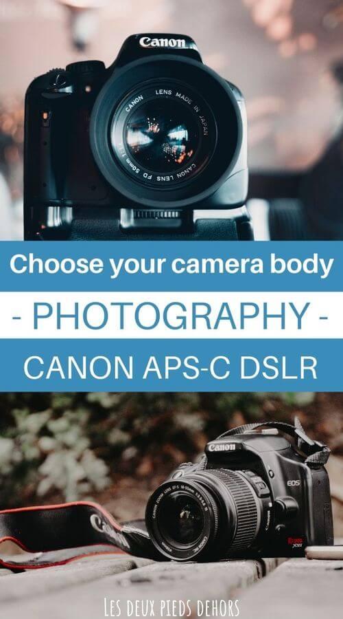 Canon APS-C cameras