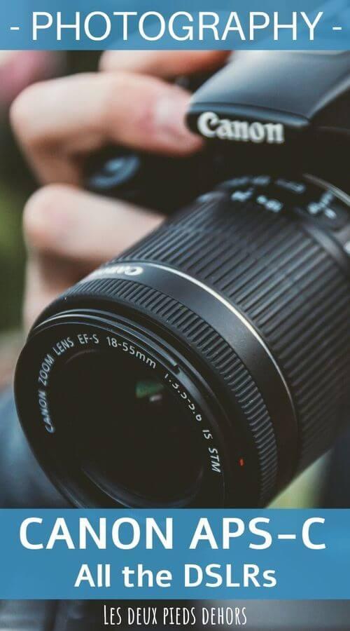 DSLR camera canon aps-c