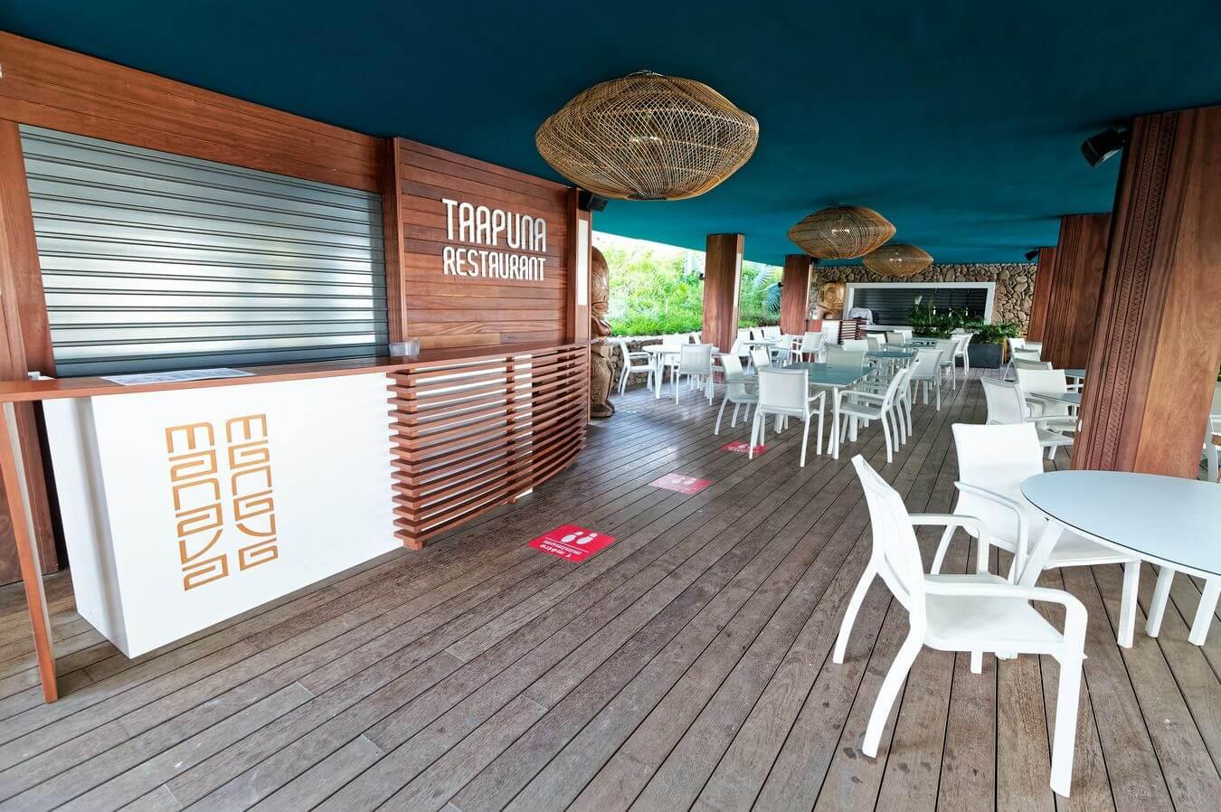 Restaurant Taapuna du Manava Tahiti