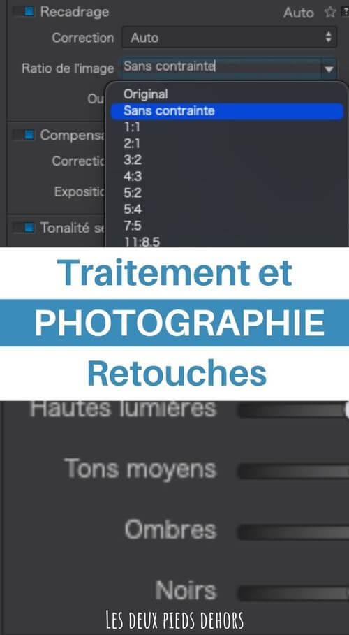 retouches traitement photo