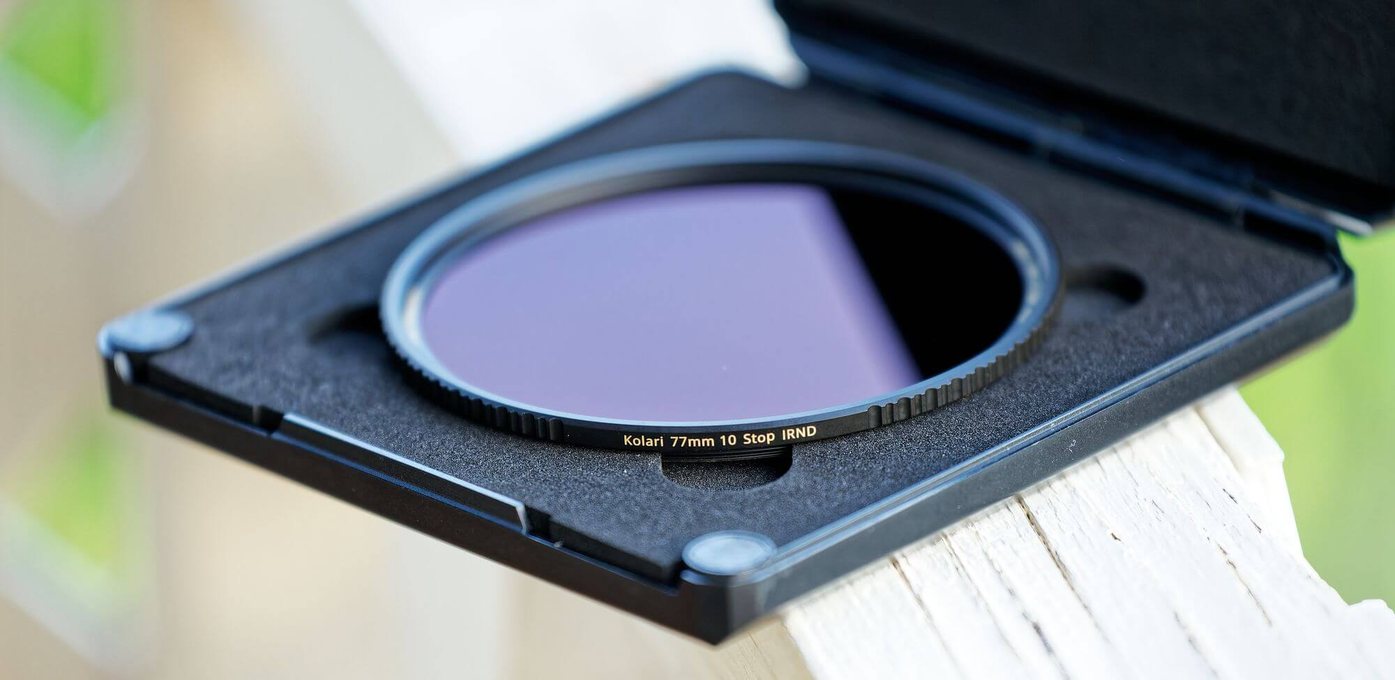 nd filters from kolari vision and case