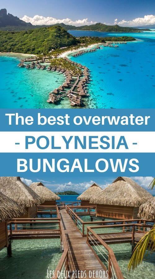 Tahiti and Polynesia overwater bungalows