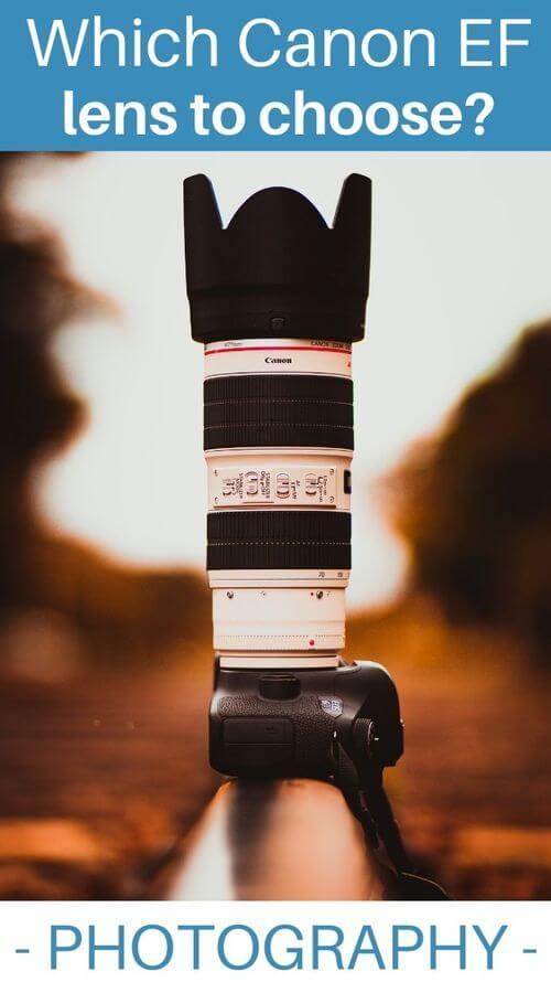 All Canon EF lenses