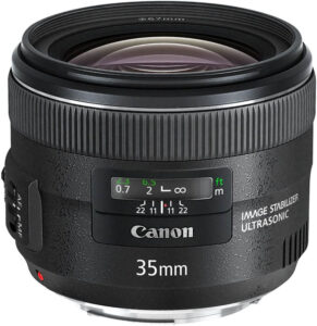 Canon sharp lens