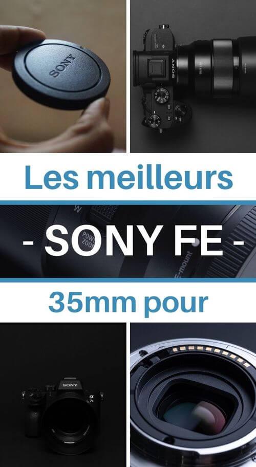 meilleur 35mm sony fe