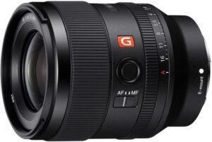 sony 35mm f/1.4 GM le meilleur 35mm