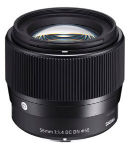 meilleur 50mm sony Sigma 56mm f1 4 DC DN Contemporary