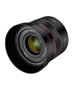 meilleur 50mm sony Samyang 45mm f 1 8 FE AF