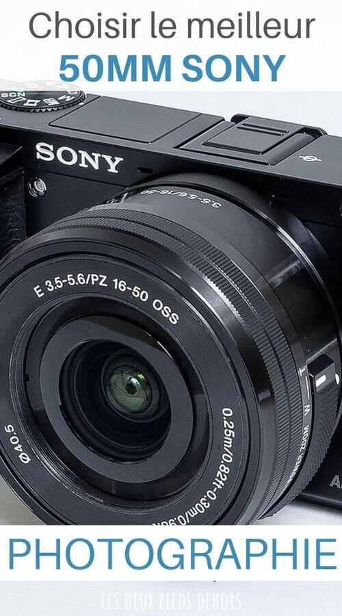Les meilleurs 50mm Sony