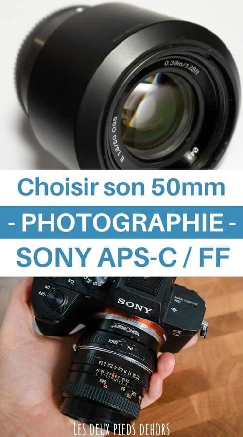 Choisir son 50mm Sony