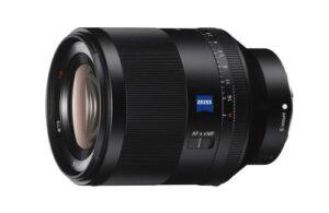 Objectif-reflex-Sony-Planar-T-FE-50-mm-F1-4-ZA-Noir