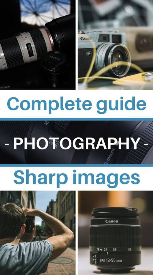 in-focus and sharp pictures