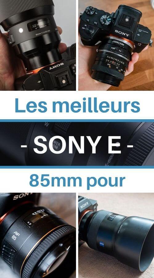 Choisir son 85mm Sony